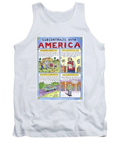 New Yorker January 16th, 1995 Tank Top