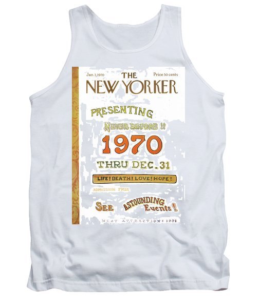 New Yorker January 3rd, 1970 Tank Top