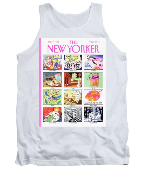 New Yorker January 7th, 1991 Tank Top