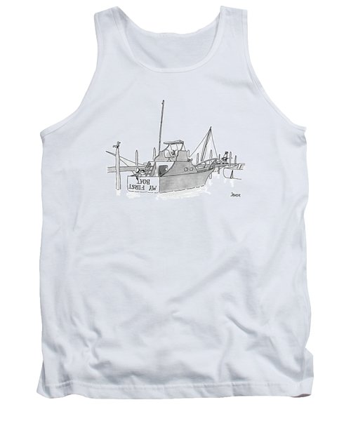 New Yorker July 11th, 1988 Tank Top