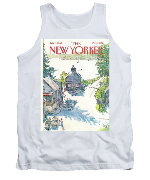 New Yorker July 4th, 1983 Tank Top