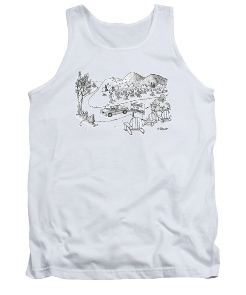 New Yorker July 4th, 1988 Tank Top