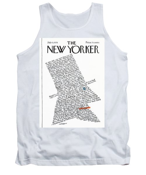 New Yorker July 5th, 1976 Tank Top