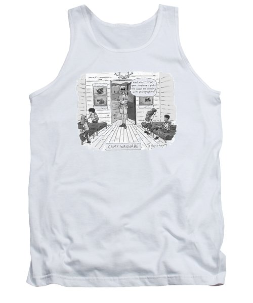 New Yorker July 7th, 1997 Tank Top