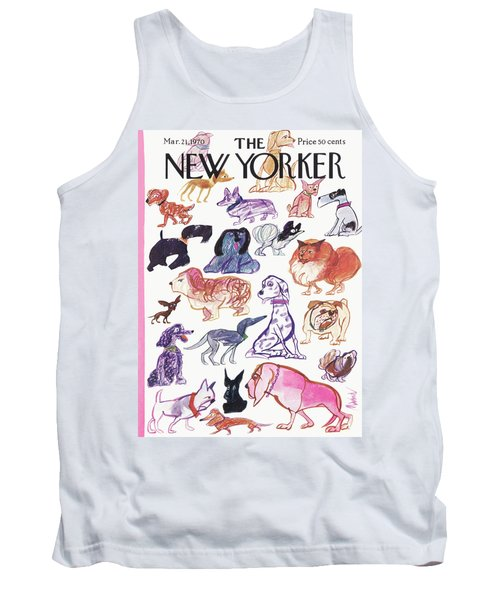 New Yorker March 21st, 1970 Tank Top