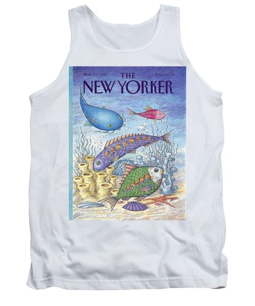 New Yorker March 23rd, 1992 Tank Top