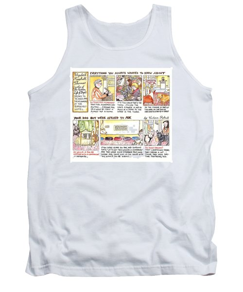 New Yorker March 28th, 1994 Tank Top