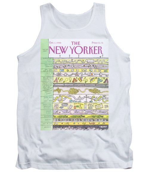New Yorker October 1st, 1990 Tank Top