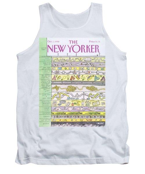 New Yorker October 1st, 1990 Tank Top