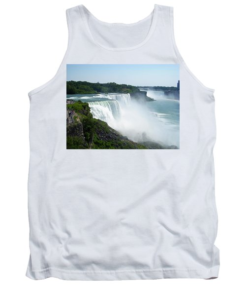 Niagara Falls Tank Top by Aimee L Maher Photography and Art Visit ALMGallerydotcom
