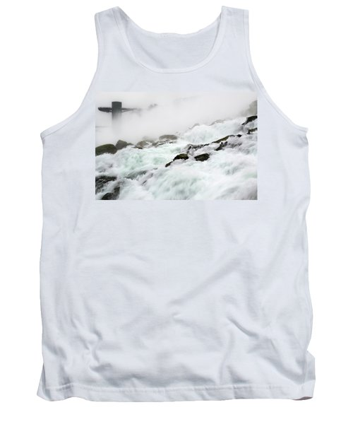 Niagara Falls With Observation Tower Behind Tank Top