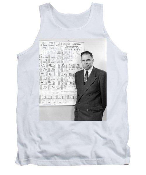 Nobel Winner Glenn Seaborg Tank Top