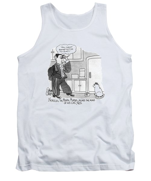 Noreldo, The Mental Marvel, Reads The Mind Tank Top