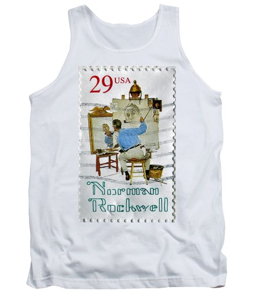 Norman Rockwell Tank Top