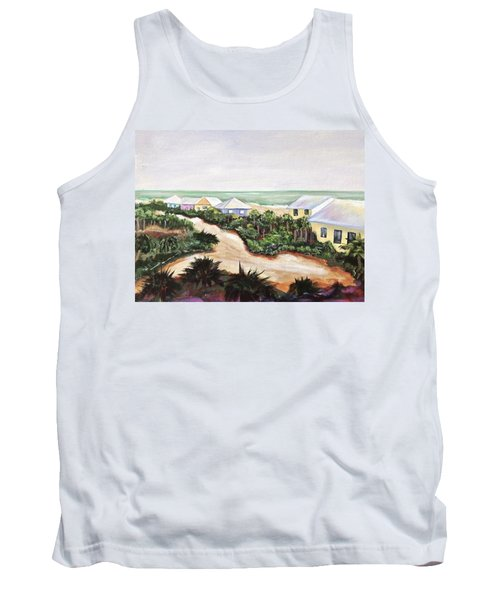Tank Top featuring the painting North Captiva by Patricia Piffath