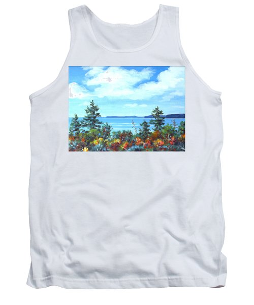 North Sky Sketch Tank Top