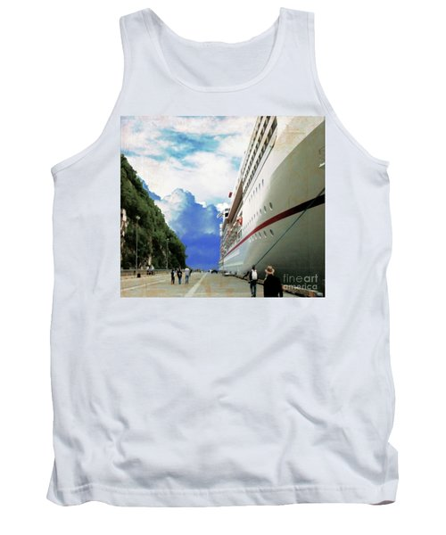 North To Alaska Tank Top by Janette Boyd
