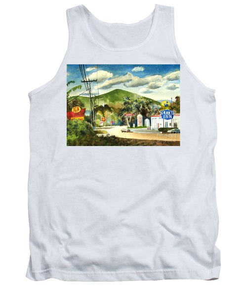 Nostalgia Arcadia Valley 1985  Tank Top