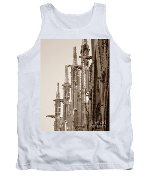 Notre Dame Sentries Sepia Tank Top