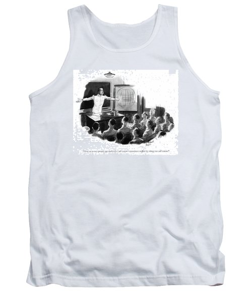 Now An Ocean Spreads Out Endlessly - All Water - Tank Top