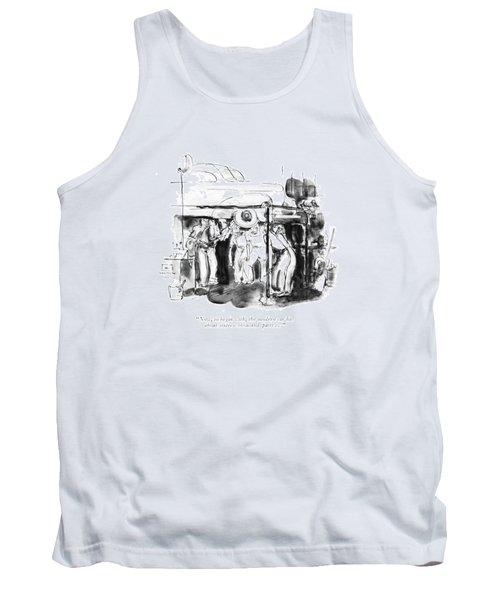 Now, To Begin With, The Modern Car Tank Top
