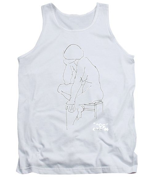 Nude Female Drawings 12 Tank Top