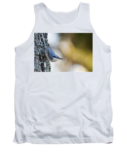 Nuthatch In The Classical Position Tank Top