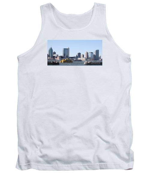 Tank Top featuring the photograph Ny Waterways by John Telfer