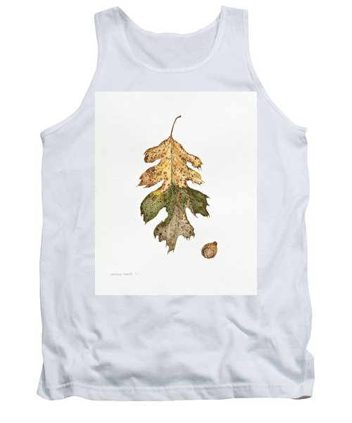 Tank Top featuring the painting Oak Study by Michele Myers