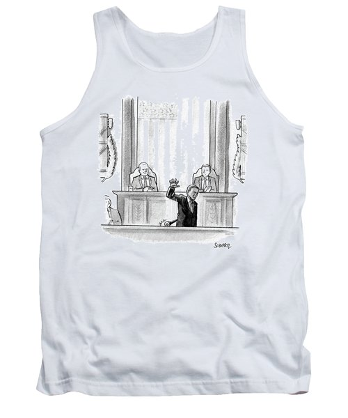 Obama Dropping A Mic Tank Top
