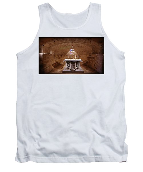 Obedience - The Church Of Saint Joseph's Carpentry Tank Top
