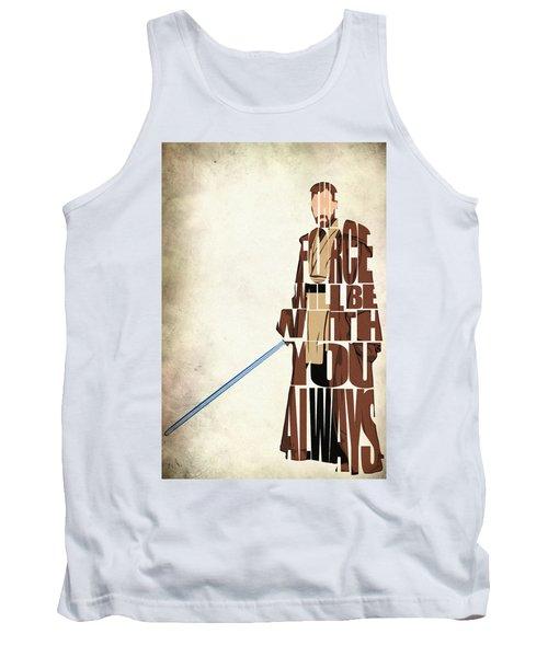 Obi-wan Kenobi - Ewan Mcgregor Tank Top