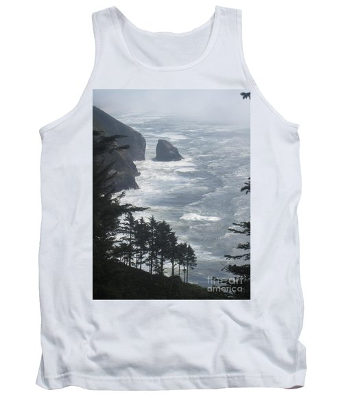 Ocean Drop Tank Top by Fiona Kennard