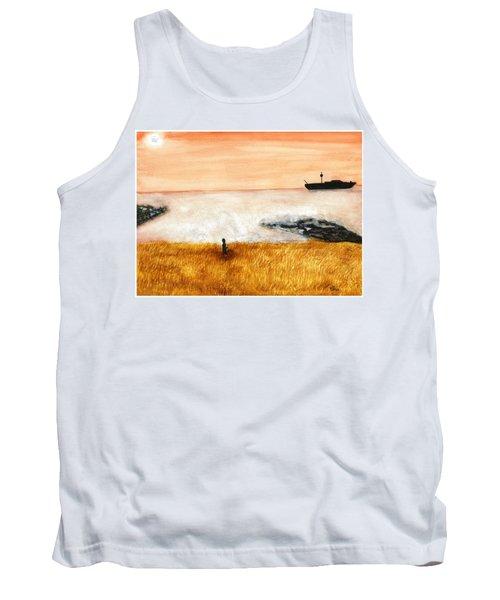 Ocean Mist 3 Tank Top