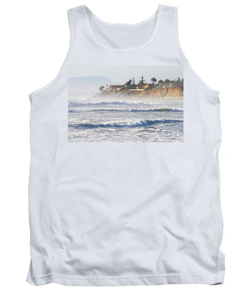 Tank Top featuring the photograph Oceanside California by Tom Janca