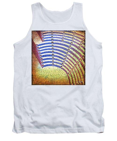 Ochre Auditorium Tank Top by Mark Jones