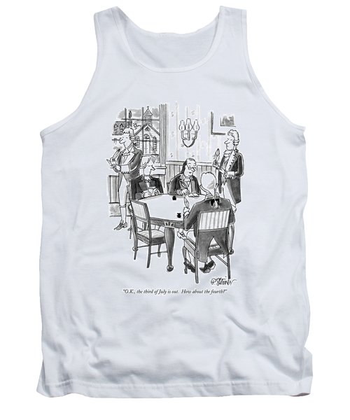 O.k., The Third Of July Is Out.  How Tank Top