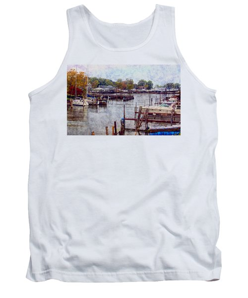 Tank Top featuring the photograph Olcott by Tammy Espino