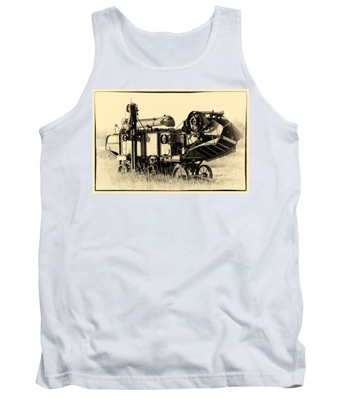 Old Case Thresher Tank Top by Bill Kesler