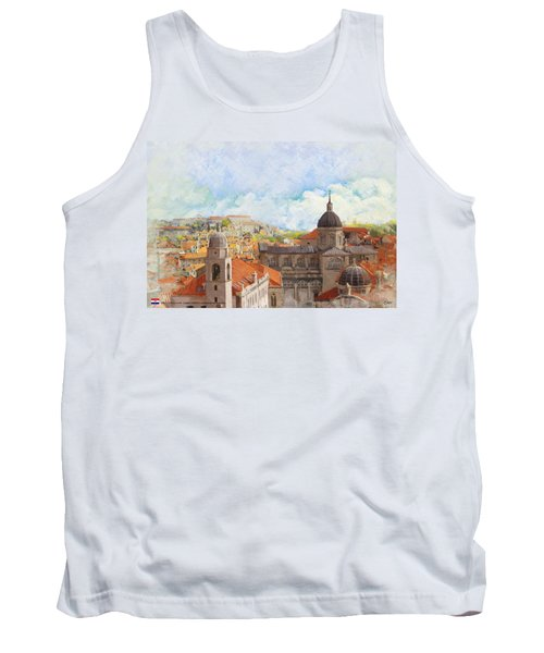 Old City Of Dubrovnik Tank Top