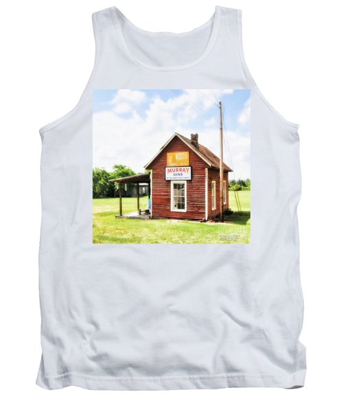 Old Country Cotton Gin Store -  South Carolina - I Tank Top by David Perry Lawrence