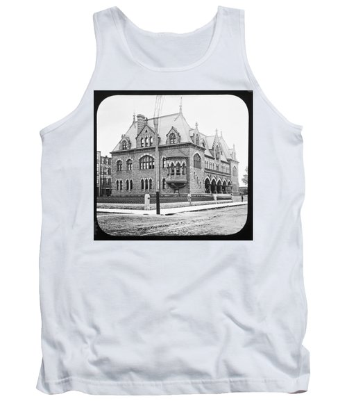 Old Customs House And Post Office Evansville Indiana 1915 Tank Top