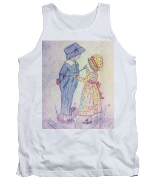 Old Fashioned Romance Tank Top by Christy Saunders Church