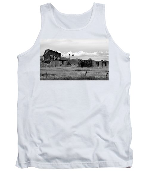 Old Fort Tank Top by Steven Reed