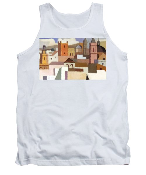 Old Jerusalem Tank Top by Munir Alawi