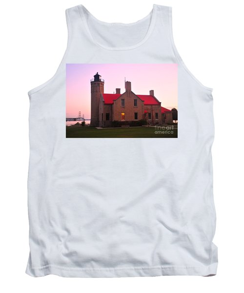 Tank Top featuring the photograph Old Mackinac Point Lighthouse by Terri Gostola