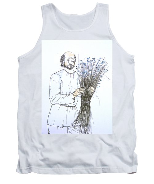 Old Man And Flax Tank Top