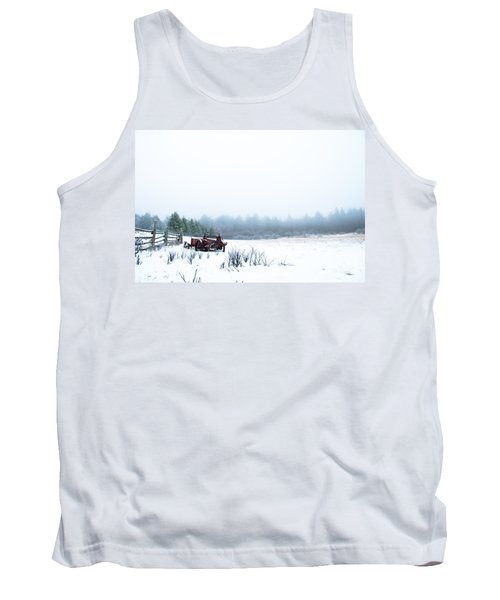 Old Manure Spreader Tank Top