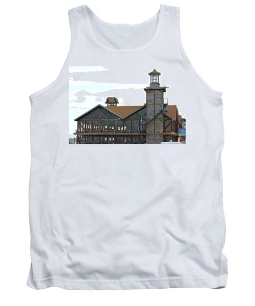Old Restaurant                 Tank Top by Lorna Maza