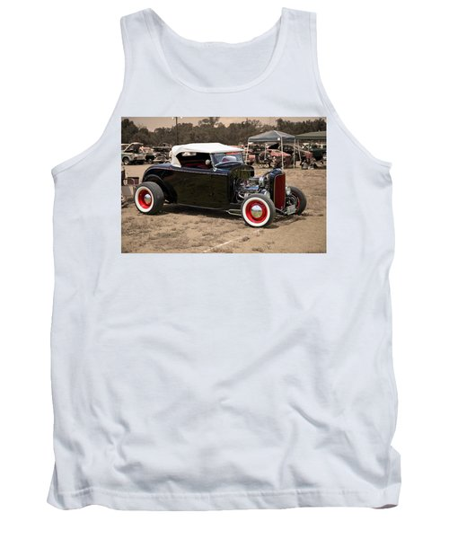 Old School Hot Rod Tank Top